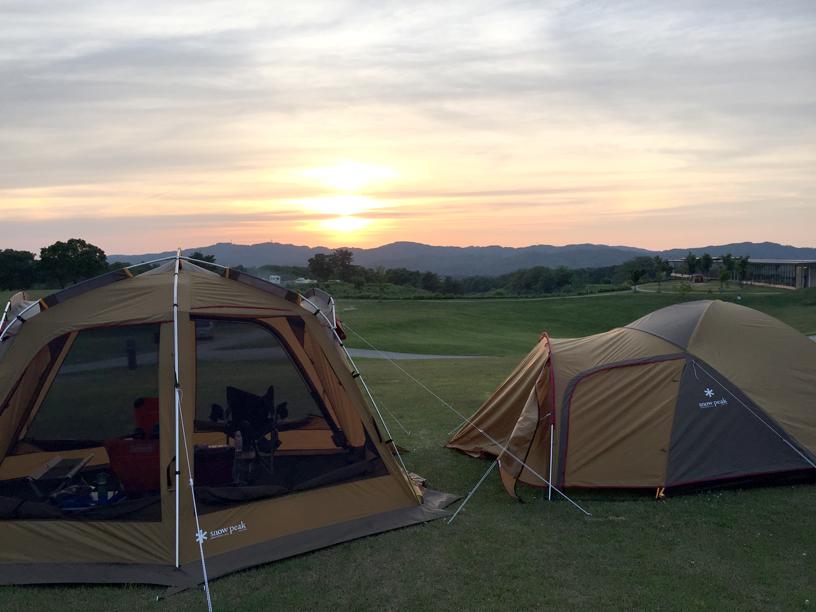 建築士のキャンプの楽しみ方のイメージ